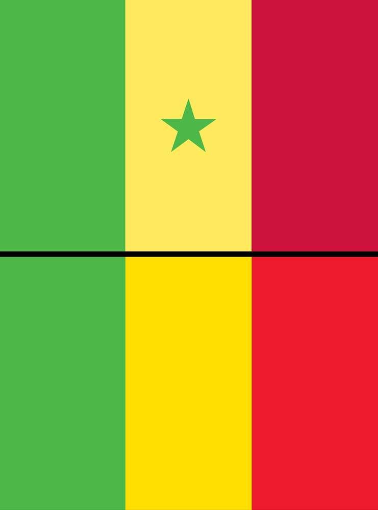 सेनेगल (Senegal)और माली (Mali) का राष्ट्रीय ध्वज